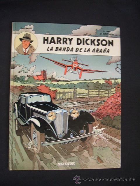 HARRY DICKSON - Nº 1 - LA BANDA DE LA ARAÑA - EDIT. JUVENTUD - (Tebeos y Comics - Juventud - Otros)