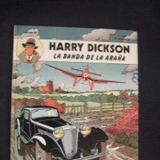 Cómics: HARRY DICKSON - Nº 1 - LA BANDA DE LA ARAÑA - EDIT. JUVENTUD - . Lote 34345890