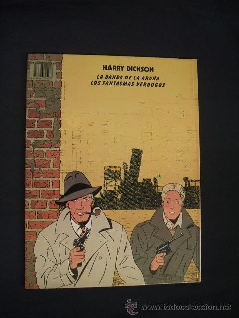 Cómics: HARRY DICKSON - Nº 1 - LA BANDA DE LA ARAÑA - EDIT. JUVENTUD - - Foto 4 - 34345890