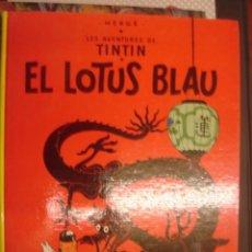 Cómics: LES AVENTURES DE TINTIN. EL LOTUS BLAU. JOVENTUT. Lote 34441399