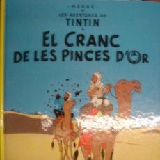 Cómics: LES AVENTURES DE TINTIN. EL CRANC DE LES PINCES D´OR. ED. JOVENTUT. Lote 34441418