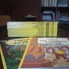 Cómics: TINTIN - JUVENTUD LOMOS AMARILLOS 20 NUMS. TAPA BLANDA 1996 EXCELENTE ESTADO. Lote 34509968