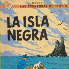 Cómics: TINTIN. LA ISLA NEGRA. EDICIÓN 1981. TAPAS BLANDAS. Lote 34689924