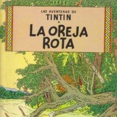 Cómics: TINTIN. LA OREJA ROTA . 4ª EDICIÓN 1976. TAPAS BLANDAS. Lote 34743044