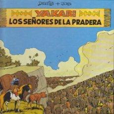 Cómics: YAKARI Nº 13. LOS SEÑORES DE LA PRADERA. TAPAS DURAS.. Lote 34860662