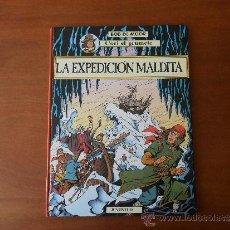 Cómics: CORI EL GRUMETE: LA EXPEDICIÓN MALDITA (BOB DE MOORE), ED. JUVENTUD 1ª EDICIÓN 1989, TAPA DURA.. Lote 34923355