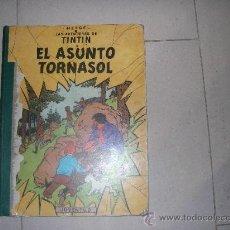 Cómics: TINTIN EL ASUNTO TORNASOL PRIMERA 1ª EDICION LOMO VERDE MUY RARO Y EN. Lote 34951835