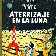 Cómics: TINTIN, ATERRIZAJE EN LA LUNA , JUVENTUD , EDICION 1965 , TAPA DURA, ORIGINAL, H. Lote 35100962