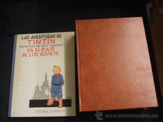 LOTE 23 TINTIN + EN EL PAIS DE LOS SOVIETS (1ª) PRIMERA EDICION - LEER INTERIOR - (Tebeos y Comics - Juventud - Tintín)