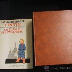Cómics: LOTE 23 TINTIN + EN EL PAIS DE LOS SOVIETS (1ª) PRIMERA EDICION - LEER INTERIOR - . Lote 35130158