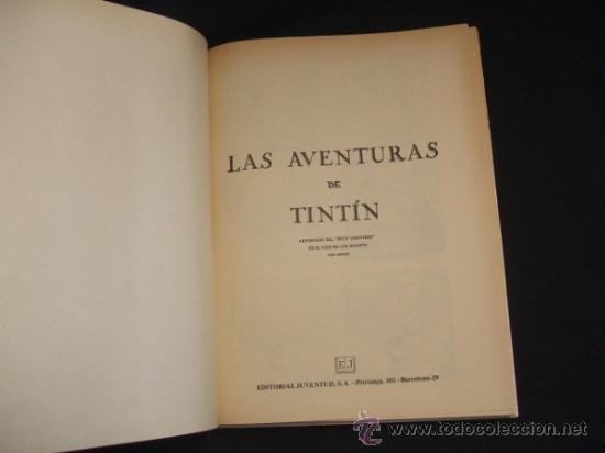 Cómics: LOTE 23 TINTIN + EN EL PAIS DE LOS SOVIETS (1ª) PRIMERA EDICION - LEER INTERIOR - - Foto 3 - 35130158