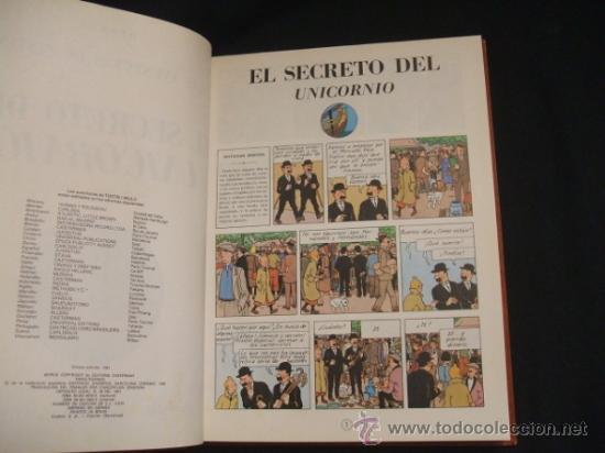 Cómics: LOTE 23 TINTIN + EN EL PAIS DE LOS SOVIETS (1ª) PRIMERA EDICION - LEER INTERIOR - - Foto 22 - 35130158