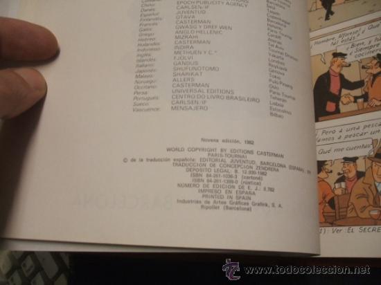 Cómics: LOTE 23 TINTIN + EN EL PAIS DE LOS SOVIETS (1ª) PRIMERA EDICION - LEER INTERIOR - - Foto 24 - 35130158