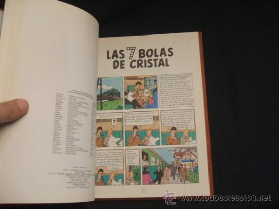 Cómics: LOTE 23 TINTIN + EN EL PAIS DE LOS SOVIETS (1ª) PRIMERA EDICION - LEER INTERIOR - - Foto 27 - 35130158