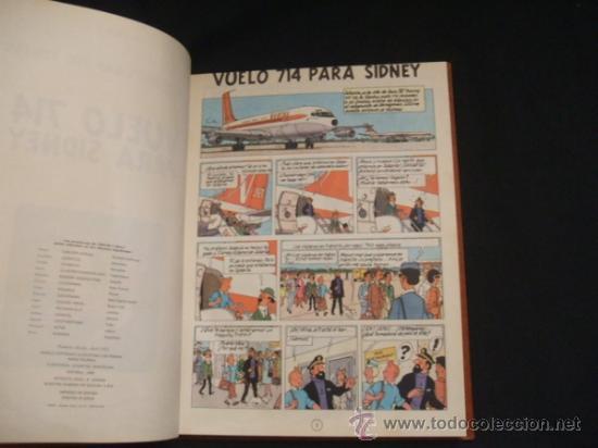Cómics: LOTE 23 TINTIN + EN EL PAIS DE LOS SOVIETS (1ª) PRIMERA EDICION - LEER INTERIOR - - Foto 35 - 35130158