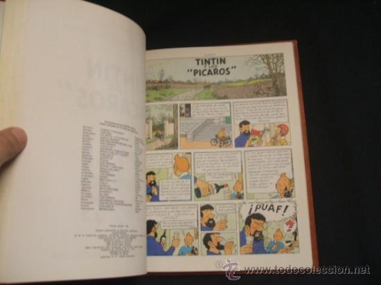 Cómics: LOTE 23 TINTIN + EN EL PAIS DE LOS SOVIETS (1ª) PRIMERA EDICION - LEER INTERIOR - - Foto 41 - 35130158