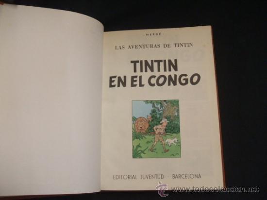 Cómics: LOTE 23 TINTIN + EN EL PAIS DE LOS SOVIETS (1ª) PRIMERA EDICION - LEER INTERIOR - - Foto 43 - 35130158