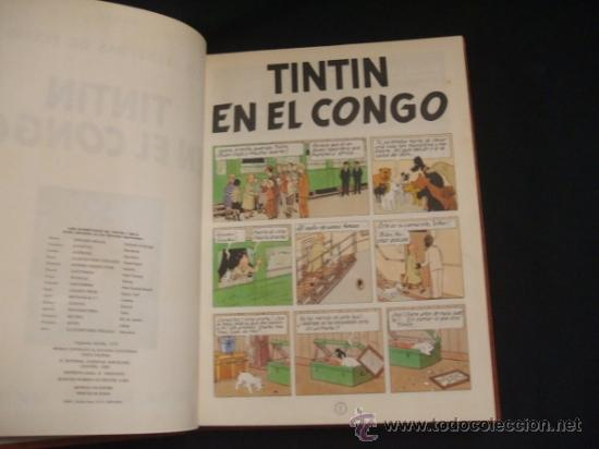 Cómics: LOTE 23 TINTIN + EN EL PAIS DE LOS SOVIETS (1ª) PRIMERA EDICION - LEER INTERIOR - - Foto 45 - 35130158