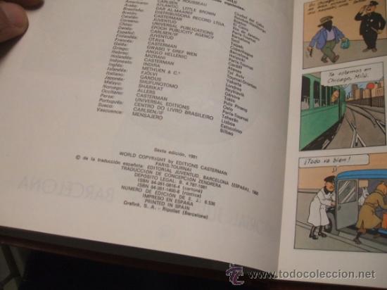 Cómics: LOTE 23 TINTIN + EN EL PAIS DE LOS SOVIETS (1ª) PRIMERA EDICION - LEER INTERIOR - - Foto 47 - 35130158