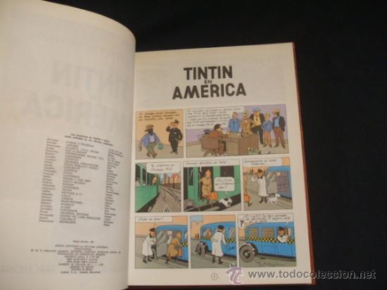 Cómics: LOTE 23 TINTIN + EN EL PAIS DE LOS SOVIETS (1ª) PRIMERA EDICION - LEER INTERIOR - - Foto 48 - 35130158