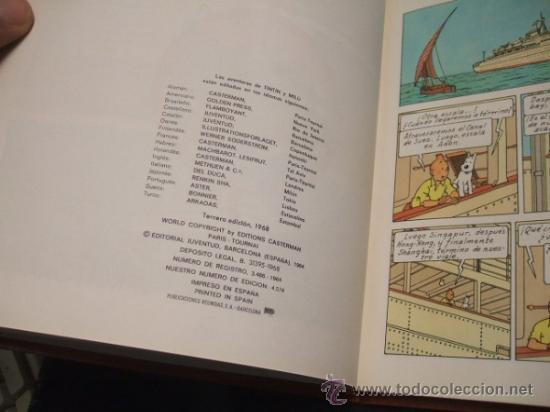 Cómics: LOTE 23 TINTIN + EN EL PAIS DE LOS SOVIETS (1ª) PRIMERA EDICION - LEER INTERIOR - - Foto 50 - 35130158