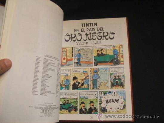 Cómics: LOTE 23 TINTIN + EN EL PAIS DE LOS SOVIETS (1ª) PRIMERA EDICION - LEER INTERIOR - - Foto 62 - 35130158