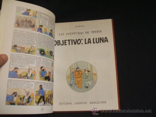 Cómics: LOTE 23 TINTIN + EN EL PAIS DE LOS SOVIETS (1ª) PRIMERA EDICION - LEER INTERIOR - - Foto 63 - 35130158