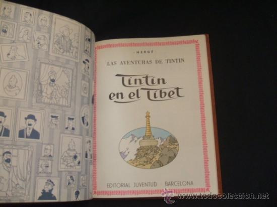 Cómics: LOTE 23 TINTIN + EN EL PAIS DE LOS SOVIETS (1ª) PRIMERA EDICION - LEER INTERIOR - - Foto 76 - 35130158