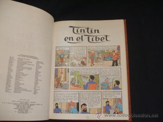 Cómics: LOTE 23 TINTIN + EN EL PAIS DE LOS SOVIETS (1ª) PRIMERA EDICION - LEER INTERIOR - - Foto 78 - 35130158
