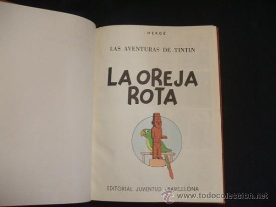Cómics: LOTE 23 TINTIN + EN EL PAIS DE LOS SOVIETS (1ª) PRIMERA EDICION - LEER INTERIOR - - Foto 84 - 35130158