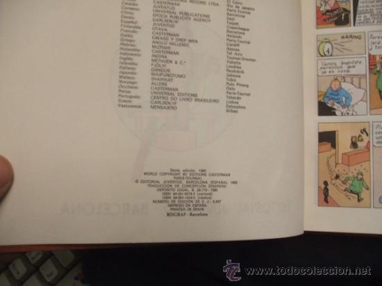 Cómics: LOTE 23 TINTIN + EN EL PAIS DE LOS SOVIETS (1ª) PRIMERA EDICION - LEER INTERIOR - - Foto 85 - 35130158