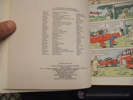 Cómics: LOTE 23 TINTIN + EN EL PAIS DE LOS SOVIETS (1ª) PRIMERA EDICION - LEER INTERIOR - - Foto 88 - 35130158