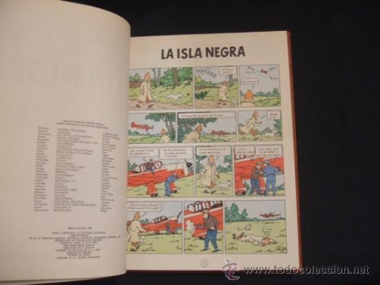 Cómics: LOTE 23 TINTIN + EN EL PAIS DE LOS SOVIETS (1ª) PRIMERA EDICION - LEER INTERIOR - - Foto 89 - 35130158