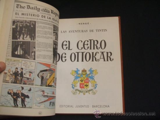 Cómics: LOTE 23 TINTIN + EN EL PAIS DE LOS SOVIETS (1ª) PRIMERA EDICION - LEER INTERIOR - - Foto 90 - 35130158