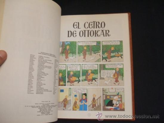 Cómics: LOTE 23 TINTIN + EN EL PAIS DE LOS SOVIETS (1ª) PRIMERA EDICION - LEER INTERIOR - - Foto 92 - 35130158
