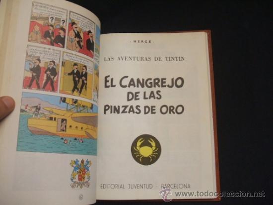 Cómics: LOTE 23 TINTIN + EN EL PAIS DE LOS SOVIETS (1ª) PRIMERA EDICION - LEER INTERIOR - - Foto 93 - 35130158