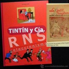 Cómics: TINTÍN Y CÍA - LIBRO SOBRE TINTÍN Y OTROS PERSONAJES DE CÓMIC - HISTORIA GENEALOGÍA FOTOS HERGÉ. Lote 40176761