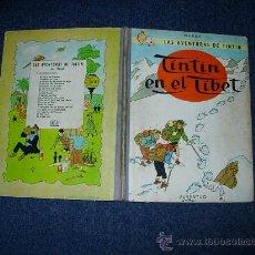 Cómics: TINTIN - TINTIN EL EL TIBET EN LOMO TELA 1965 SEGUNDA EDICION - HERGE. Lote 35371450