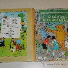 Cómics: (M-1) LAS AVENTURAS DE JO, ZETTE Y JOCKO, EL MANITOBA NO CONTESTA, 1 EDC, EDT JUVENTUD. Lote 35637765