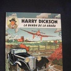 Cómics: HARRY DICKSON - Nº 1 - LA BANDA DE LA ARAÑA - EDIT. JUVENTUD - . Lote 35779688
