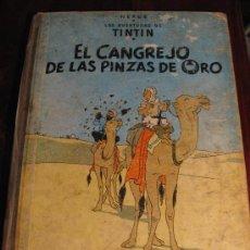 Cómics: EL CANGREJO DE LAS PINZAS DE ORO.- TINTIN. Lote 36000396