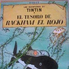 Cómics: TOMO LAS AVENTURAS DE TINTIN- EL TESORO DE RACKHAM EL ROJO- EDIT.JUVENTUD. Lote 36420510