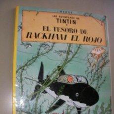 Cómics: LAS AVENTURAS DE TINTIN - EL TESORO DE RACKHAM EL ROJO - JUVENTUD. Lote 36846199