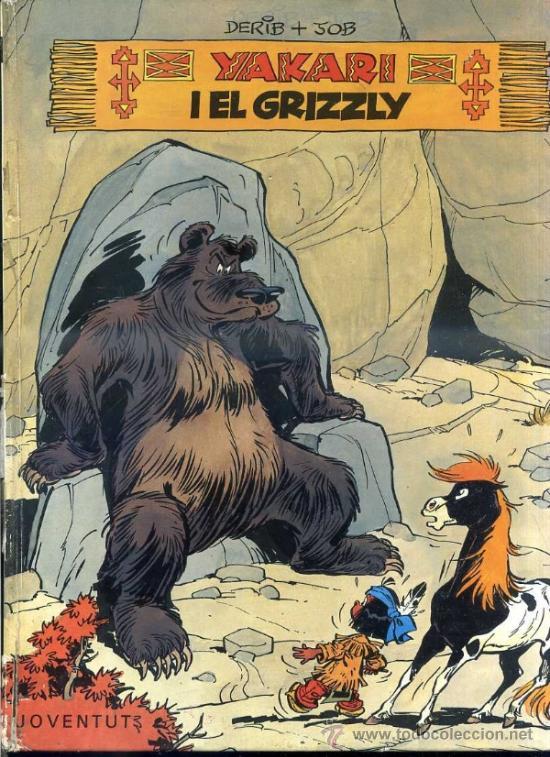 YAKARI I EL GRIZZLY - CATALÁN, 1ª EDICIÓ (JOVENTUT, 1981) (Tebeos y Comics - Juventud - Yakary)