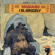 Cómics: YAKARI I EL GRIZZLY - CATALÁN, 1ª EDICIÓ (JOVENTUT, 1981). Lote 36745253
