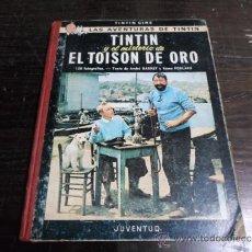 Cómics: TINTIN, TINTIN Y EL MISTERIO DEL TOISON DE ORO, ED. JUVENTUD, 2 ED. 1968. Lote 36936865
