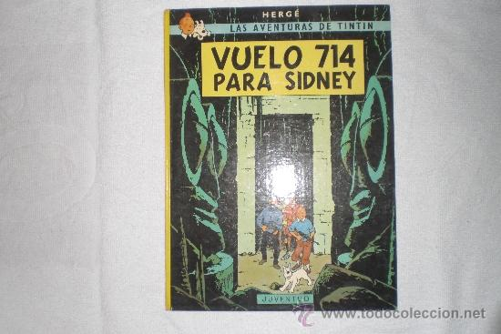 LAS AVENTURAS DE TINTIN VUELO 714 PARA SIDNEY 1988 (Tebeos y Comics - Juventud - Otros)
