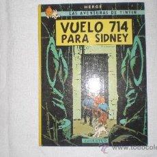 Cómics: LAS AVENTURAS DE TINTIN VUELO 714 PARA SIDNEY 1988. Lote 36961401