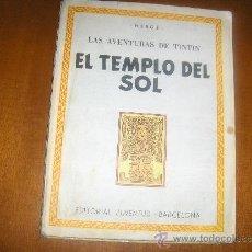 Cómics: EL TEMPLO DEL SOL - LAS AVENTURAS DE TINTIN. Lote 37282792