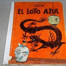 Cómics: TINTIN PRIMERA EDICIÓN EL LOTO AZUL. JUVENTUD 1965. BARATÍSIMO!!!!!!!!!!!. Lote 37327983